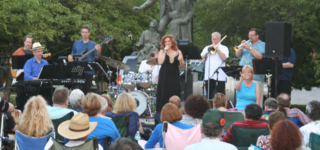 1st Wednesdays: Music on the Green